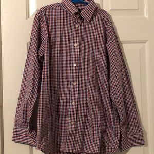 Tommy Hilfiger button up shirt with squares